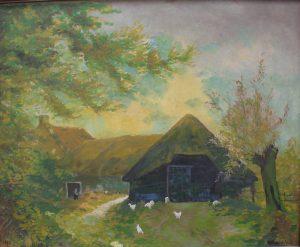 schilderij-door-a-m-van-der-wel-riot